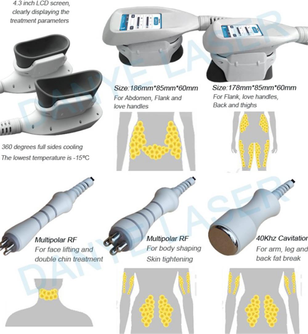 NEW 360 Cryolipolysis Vacuum 4 in 1 Platform (3)